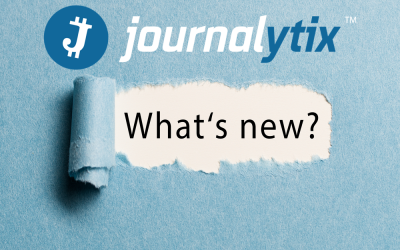 Journalytix Minor Upgrade – What's new